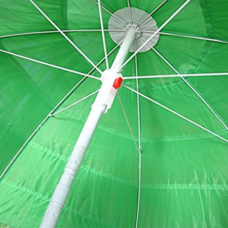Greenbay Parasol Hawaii /Ø 160 cm Inclinable pour Jardin terrasse Vert