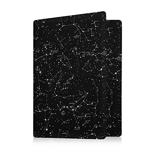 Fintie Passport Holder Travel Wallet RFID Blocking PU Leather Card Case Cover, Constellation