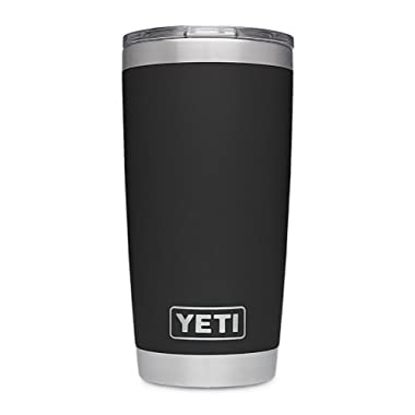 YETI Rambler 20 oz Stainless Steel Vacuum Insulated Tumbler w/MagSlider Lid, Black