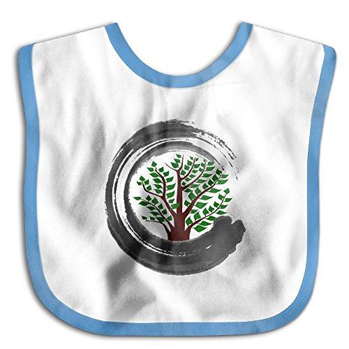 Bonsai Tree Zen Infant Baby Boys Girls Skin-friendly Saliva Towel - Usps Canada To Us From Shipping