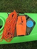 Hydra Creek Rescue Throw Bag, 70 feet, 3/8 inch