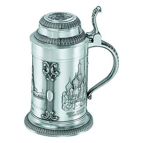 Image of Beer Mugs & Steins Artina Pewter beer stein, Moscow, by Artina, 0.6 liter