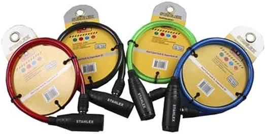 Candado economico con llave bicicleta colores surtidos: Amazon.es ...