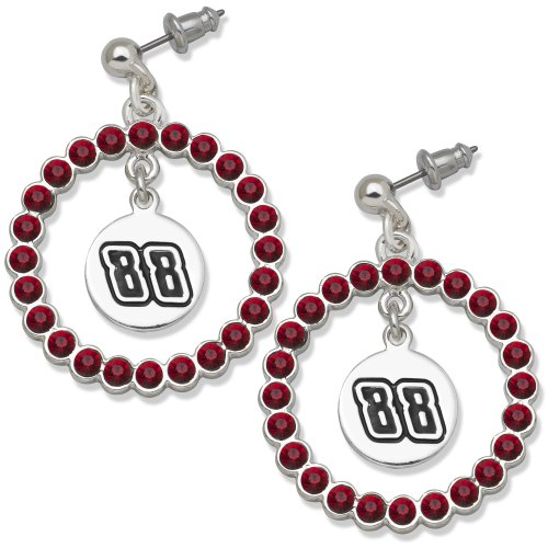 NASCAR Dale Earnhardt, Jr. #88 LogoArt Spirit Earrings