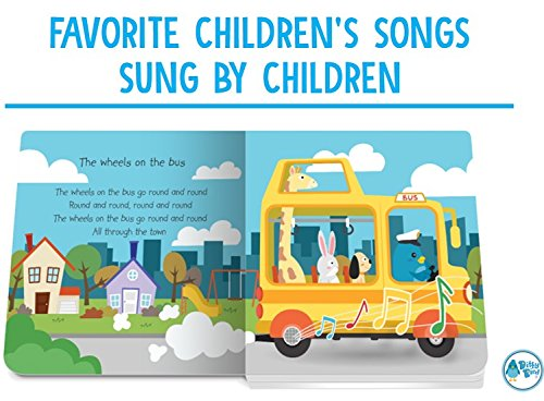 Our Best Interactive Children's Songs Book for Babies. Musical Toddler Book. Sound Books for one Year Old. Educational Toys for 1 Year Old boy Gifts. Gift for 1 Year Old Girl. Awards Winner! Blue by DITTY BIRD (Image #3)