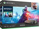 Microsoft Xbox One X 1TB/2TB Gold Rush Battlefield V Bonus Bundle: Gold Rush Special Edition Battlefield V, Xbox Wireless Controller, Xbox One X 4K HDR Console - Black