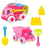 Best MasterPieces Toys For 4 Year Girls - Bigbuyu 5 Pieces Sand Dump Truck Beach Playset Review