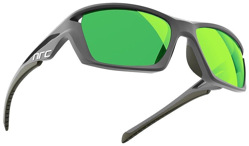 nrc エヌアールシー RX1 STORM PR(偏光レンズ) メガネ 眼鏡 めがね メンズ レディース おしゃれ ブランド 偏光人気 フレーム 流行り 度付き レンズ サングラス スポーツ   B076LY61G4