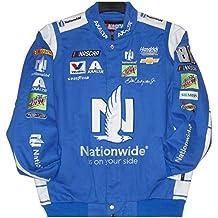 2017 Dale Earnhardt Jr. Nationwide Mens Royal Twill Nascar Jacket by JH Design