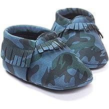 GZYIBU Tassel Baby Toddler Shoes Off Sandals I Heart Papa Mama