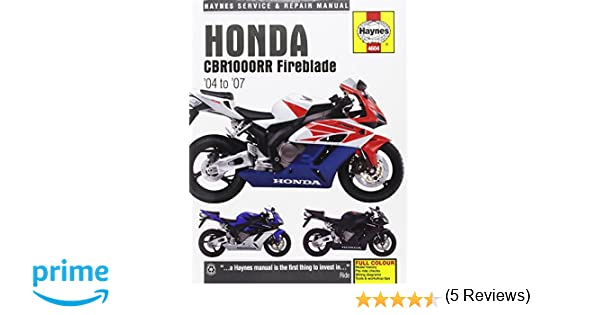Honda cbr1000rr fireblade service and repair manual 04 07 honda cbr1000rr fireblade service and repair manual 04 07 matthew coombs 9781785212970 amazon books fandeluxe Choice Image