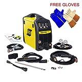 Esab Fabricator 141i MIG, Stick, TIG (w/option) Welding Machine, FREE pair of Tig and Welding Glove