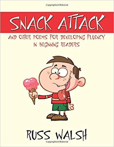 Book Snack Attack and Other Poems for Developing Fluency in Beginning Readers