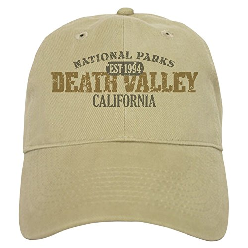 CafePress - Death Valley National Park CA Cap - Baseball Cap with Adjustable Closure, Unique Printed Baseball - Ca Crown Valley