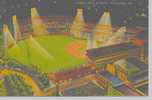 pittsburgh-pennsylvania-aerial-forbes-field-at-night-linen-antique-pc-z10388