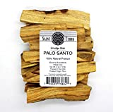 Saint Terra Premium Palo Santo (Holy Wood) 8 oz Pack Artisan Cut Smudge Stick - 100% Natural