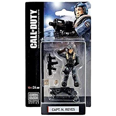 Mega Bloks Call of Duty Capt. N. Reyes Mini Figure Set #77382: Toys & Games