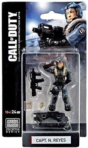Amazon Com Mega Bloks Call Of Duty Capt N Reyes Mini Figure Set 77382 Toys Games