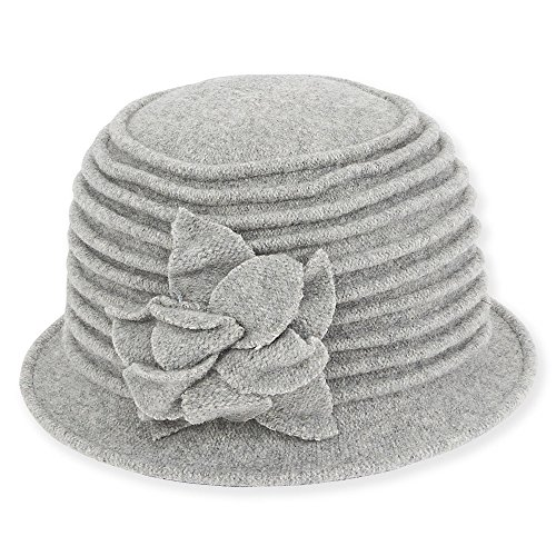adora-womens-soft-wool-cloche-bucket-hat-with-floral-trim-c-grey