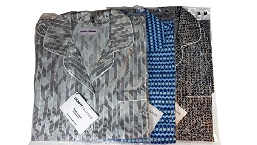 DIGNITY PAJAMAS 3-Pack Mens Cotton Adaptive Open Back Hospice Patient Gown Sleepwear - Set of 3 (S/M) by Dignity Pajamas (Image #6)
