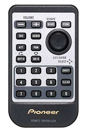 - Pioneer CD-R510 Card Remote Control