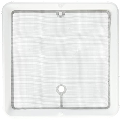 Vent Roof Screen (Hengs Industries JRP1124B White Jensen Screen Frame)