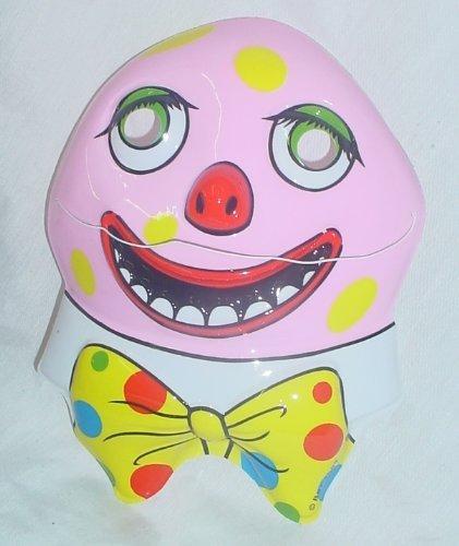 Toyland Mr Blobby- Pack Of 3 Mr Blobby Masks (each Mask Measures 26cm X 19.5cm)