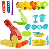 Kare & Kind Smart Dough Tools Kit with Extruder Tools and Breakfast Time Set (Kare and Kind Retail Packaging)- Assorted Color (Extruder Tools)