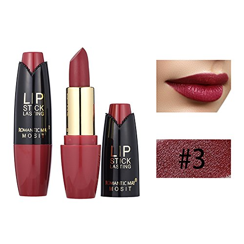 Shuuen  Non-sticky Long Lasting Glossy Lipstick Waterproof Matte Lip Cosmetic Professional Beauty Makeup