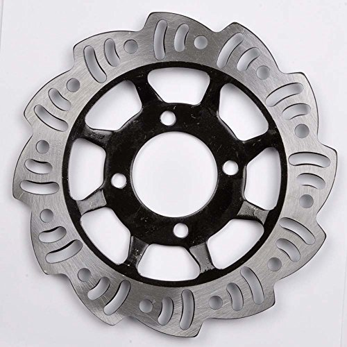 Wotefusi Brand New Front Brake Disc Rotor For 50cc-125cc Honda Style Dirt Pit Trail (Disc Brake 185mm Front)