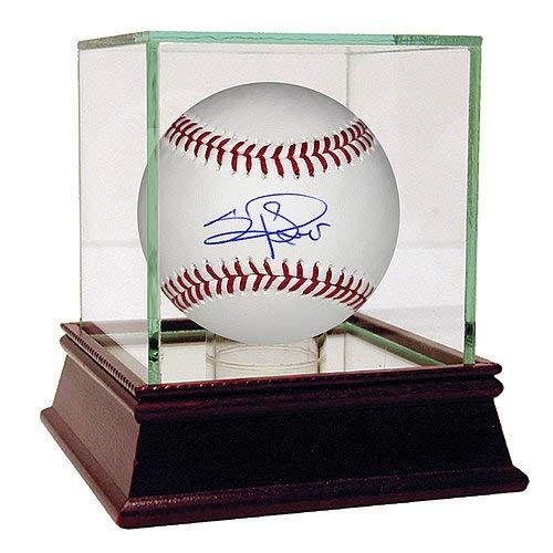 (Los Angeles Dodgers Sergio Romo Autographed Signature MLB Baseball Steiner Sports COA)