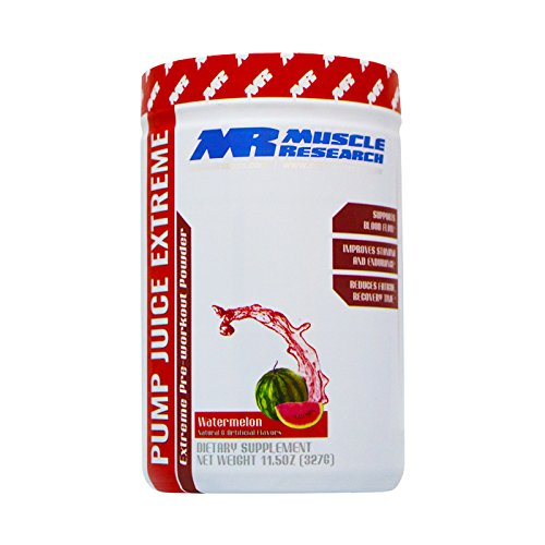 Pump Juice Extreme Watermelon by Muscle Research 30 Servings