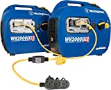 Westinghouse WH2200iXLT Portable Inverter Generator Parallel Set - 3600 Rated Watts and 4400 Peak Watts - Includes Parallel Cord - Gas Powered - CARB Compliant