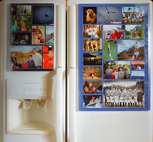 Fridgemag , 16 Inch x 24 Inch, Collage Display Frame, Clear