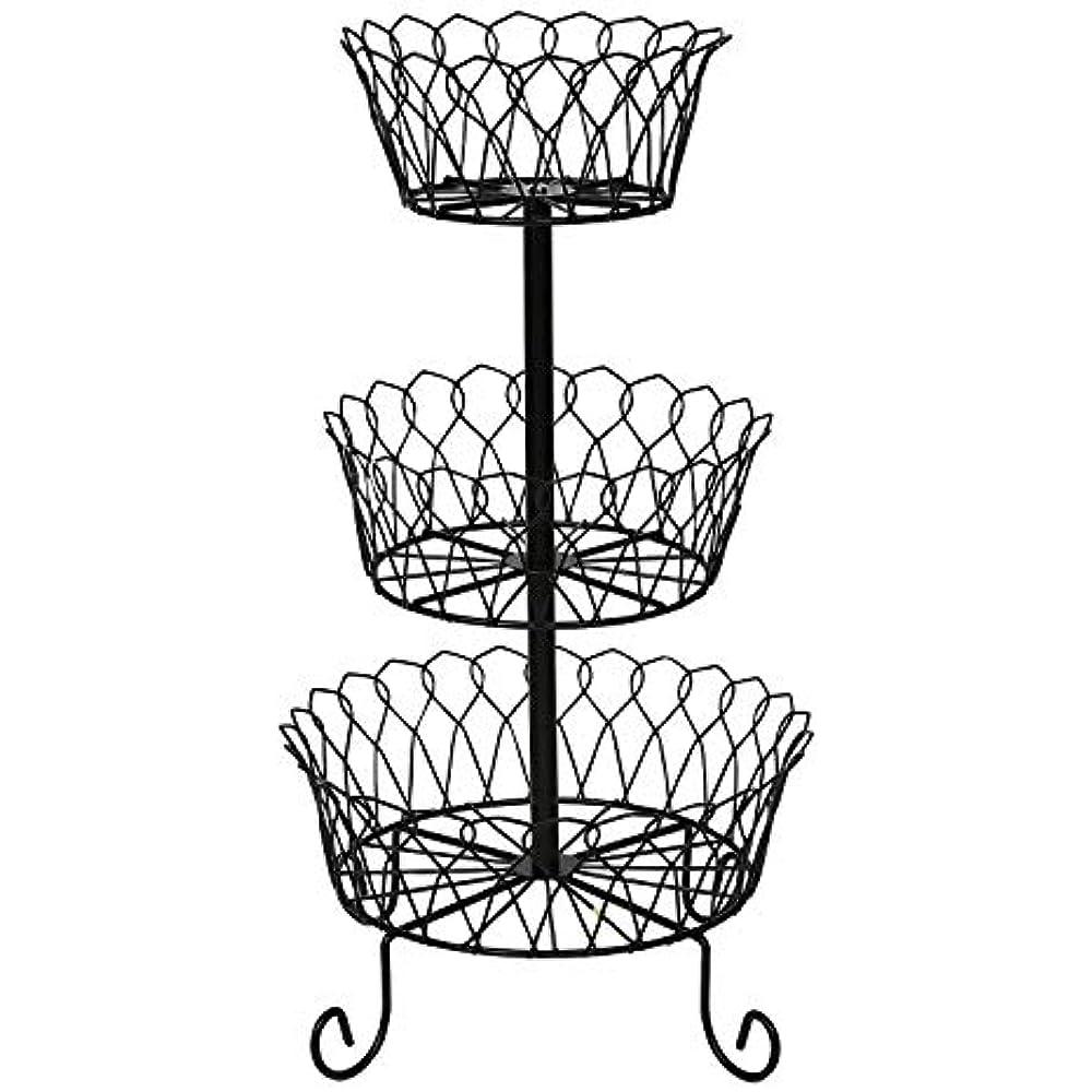 Superieur Details About   Kitchen Storage U0026 Organization Accessories 3 Tier Iron  Fruit Basket Stand Wire