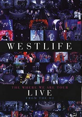 Westlife's The Where We Are Tour Live From The O2 DVD 2010
