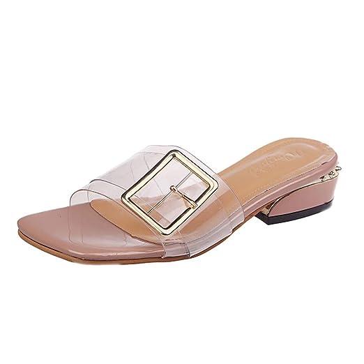 LILICAT✈✈ Zapatillas de Deporte Los Zapatos Sandalias Zapatos de Playa Zapatos Romanos Sandalias de Punta Abierta con tacón Alto para Mujer, ...