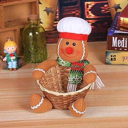 YKBSY Decoración navideña Caja de Dulces Grande, decoración ...