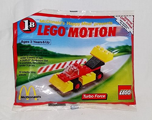 McDonald's 1989 Lego Motion # 1B Turbo Force Happy Meal Toy
