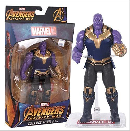 WEKIPP Man Man Superhero PVC Action Figure Model Toys -Multicolor Complete Series Merchandise