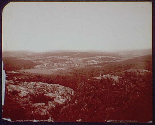 Photo: Lake Royer, valleys, hills, Buena Vista, Ragged Edge, Pen Mar, Maryland, MD, c1904 . Size: - Lake Stores Buena Vista