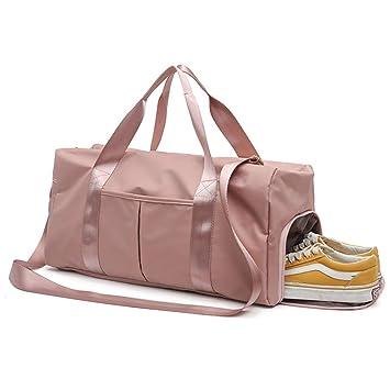 Amazon.com: Yugefom Bolsa de gimnasio seca y separada, bolsa ...