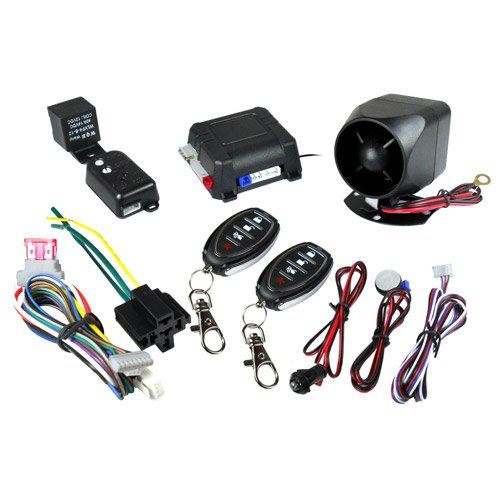 Sell Encore 1 Way 2 Channel Dual Shock Sensor Car Security