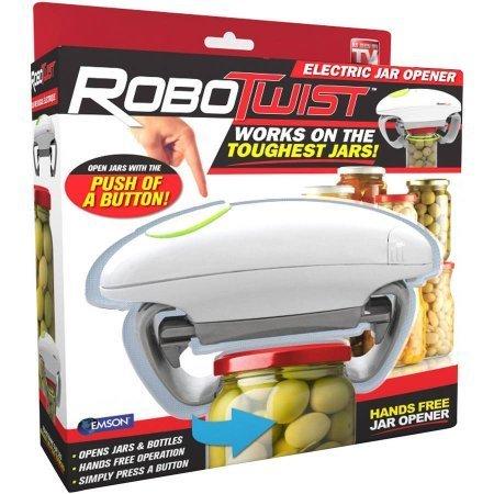 Robotwist Hands Free Jar Opener - As Seen On TV!!!