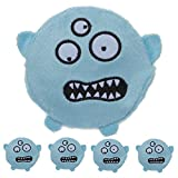 4 Pack Mommy's Kisses Hot Cold Gel Pack Blue Monster Soothing Comfort Child Injuries