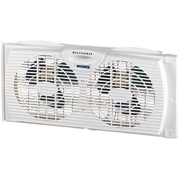 Amazon Com Westpointe Wwf0710a Wm 6 Inch Twin Window Fan