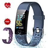 Fitness Tracker Semaco, Fitness Watch Waterproof with Heart Rate Monitor Activity Tracker Smart