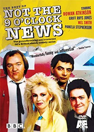 Amazoncom Not The 9 Oclock News Rowan Atkinson Pamela