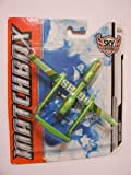 Matchbox 2012 Sky Busters Artic SB94 Drone (Green with Silver)