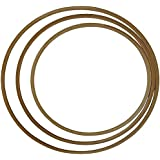 Grevinga® Gymnastikreifen / Hula Hoop aus Holz Ø 80 cm
